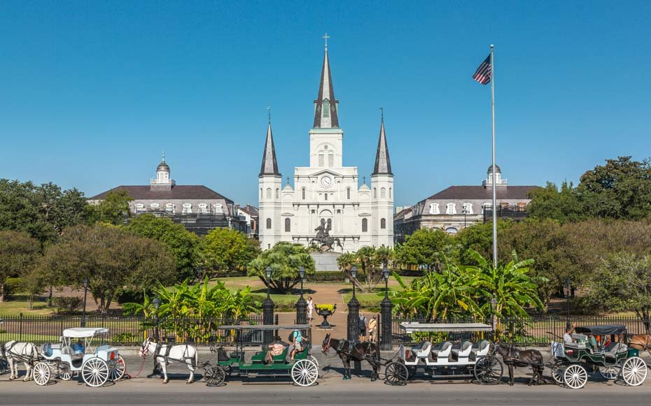 Points of interest in New Orleans