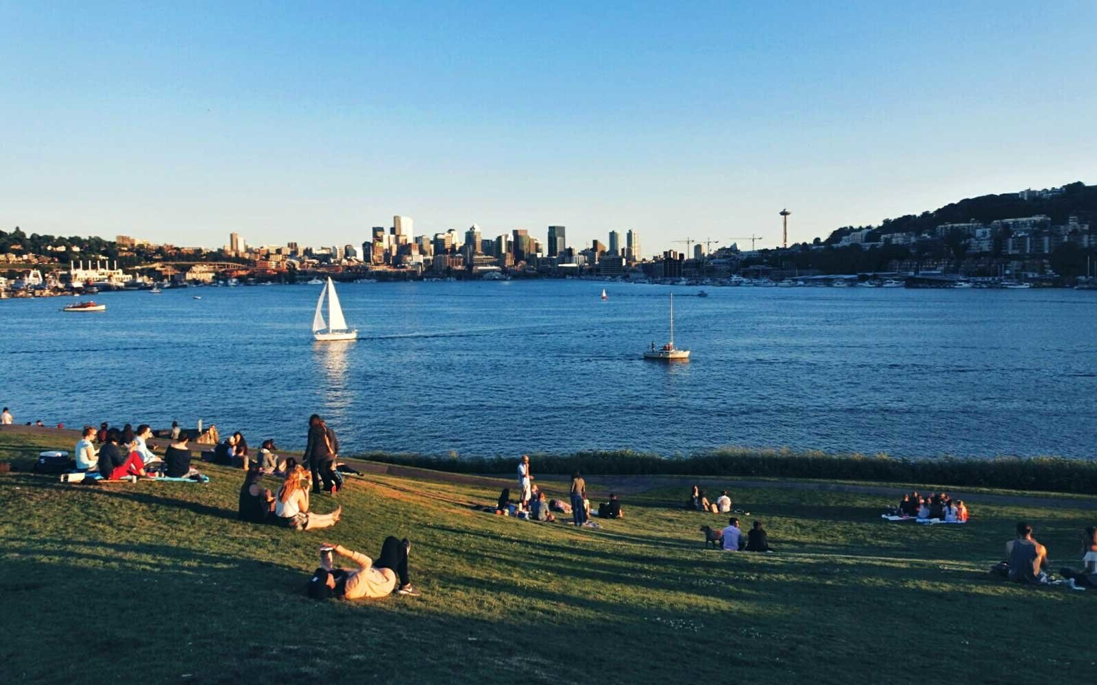 Gas Works Park, Seattle, Washington
