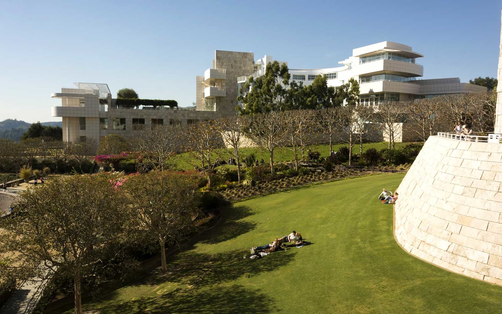 Los Angeles, Getty Center exterior and grounds