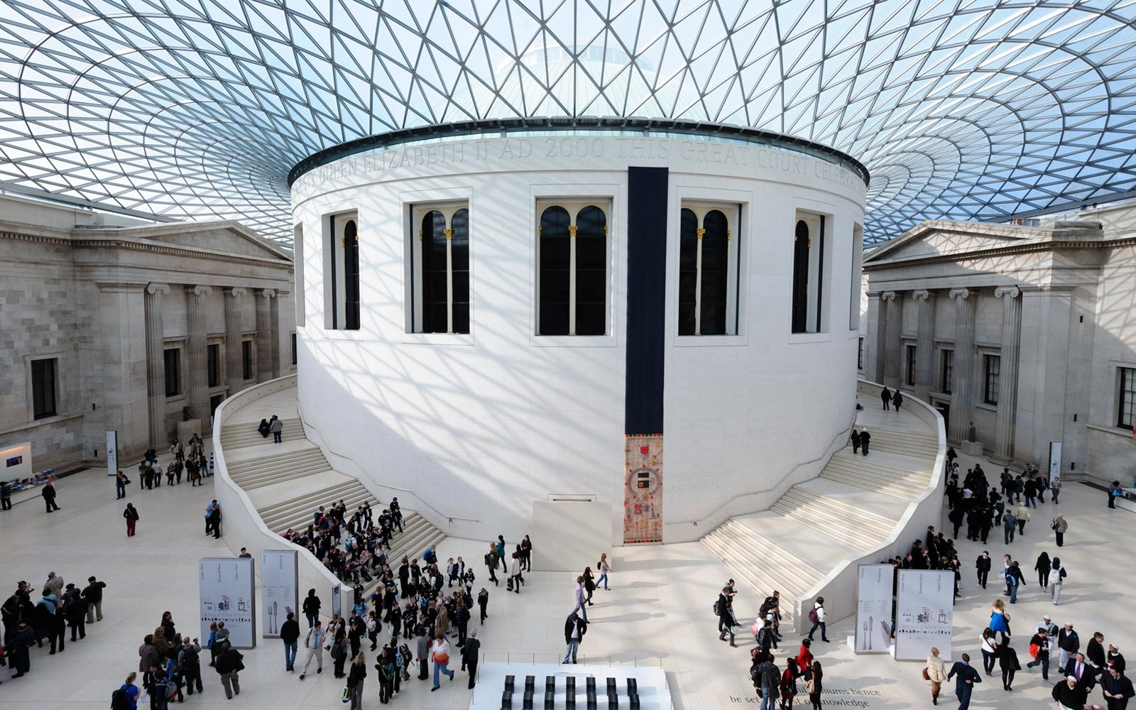 Great Court, British Museum, London, England