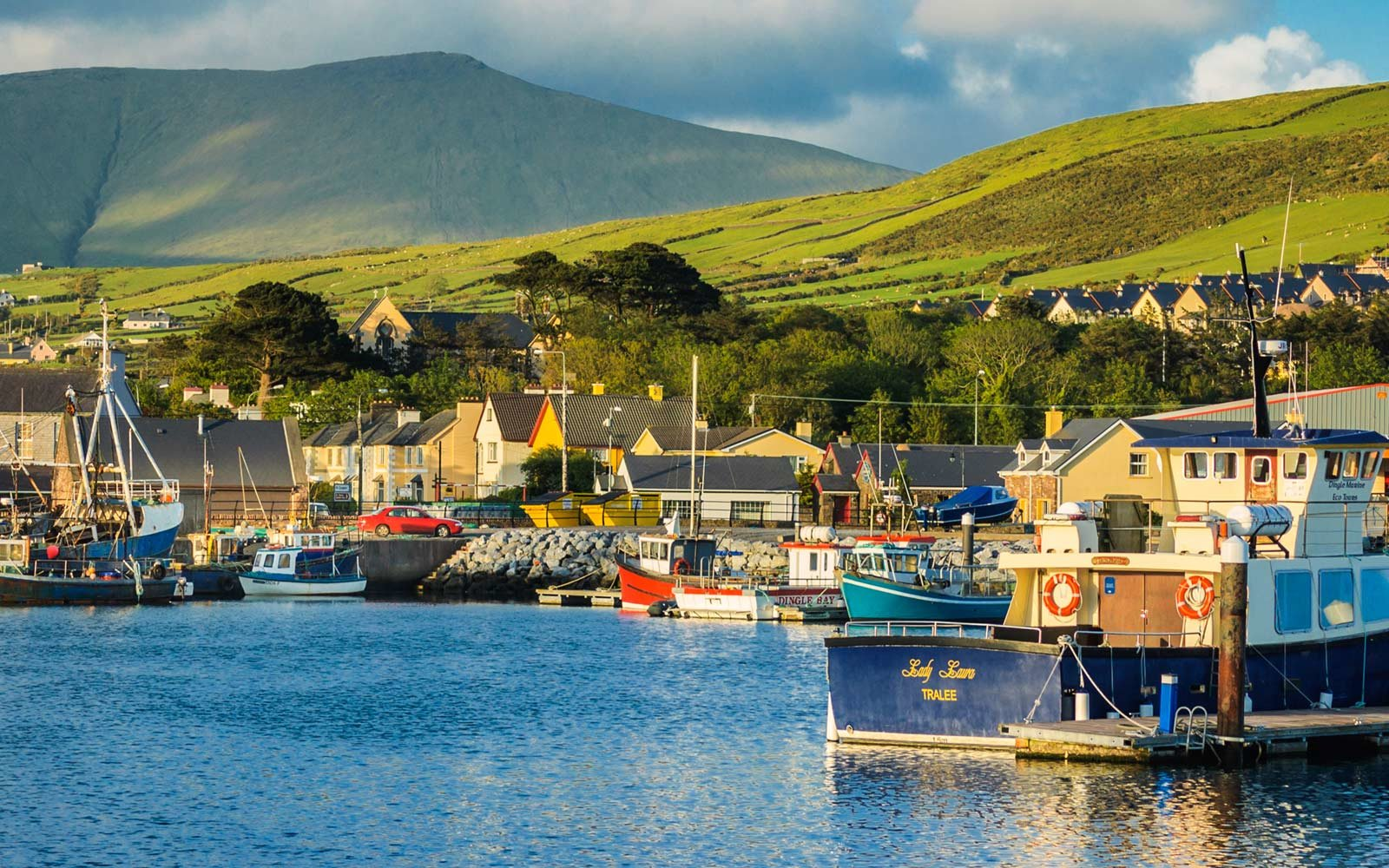 Fishing Boats, Dingle, Ireland