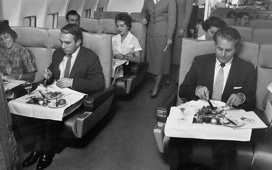 1958 Airline Meals