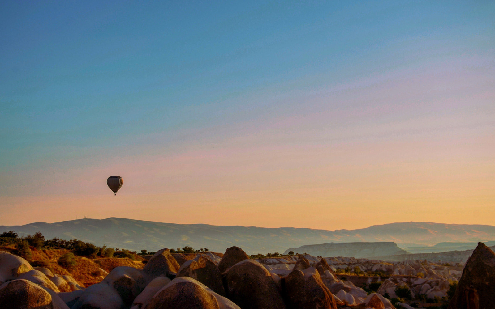 Hot Air Ballon, Cappadocia, Turkey