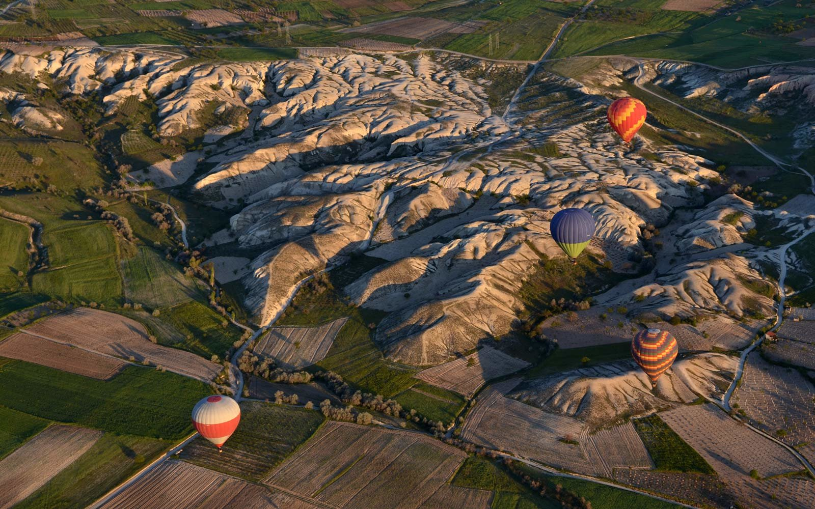 Hot Air Balloons, Cappadocian Badlands, Turkey