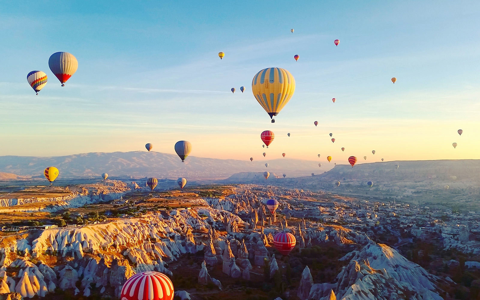 Hot Air Balloons, Festival, Cappadocia, Turkey
