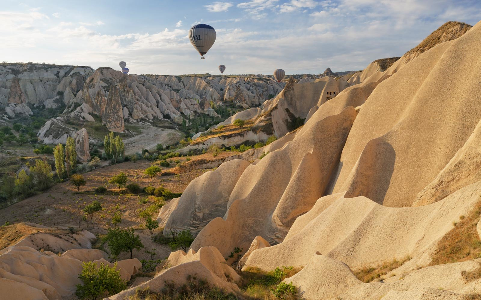 Hot Air Balloons, Goreme National Park, Cappadocia, Turkey