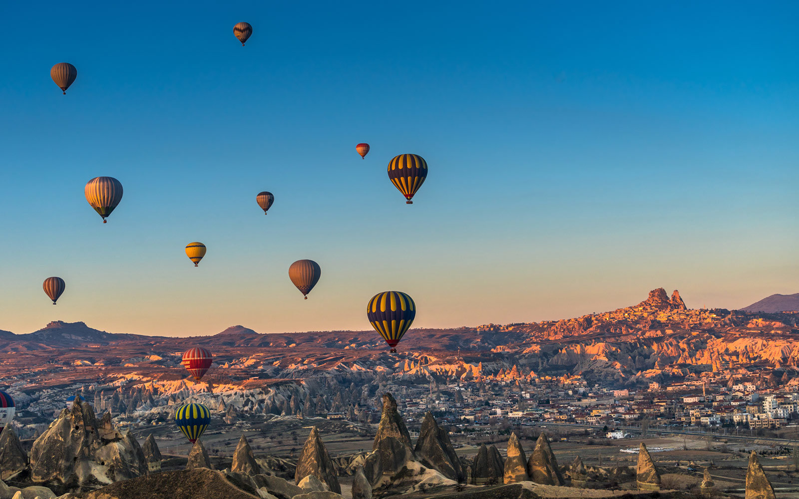 Hot Air Balloons, Cappadocia, Turkey