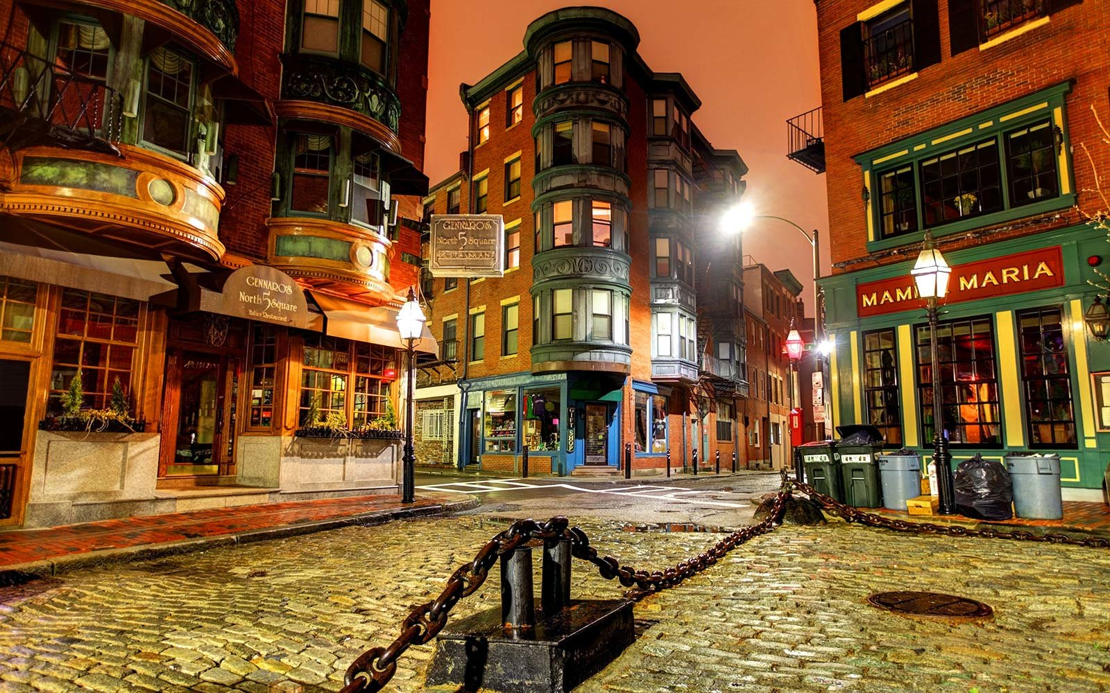 North End Is A The Oldest Neighborhood In Boston Massachusetts United States
