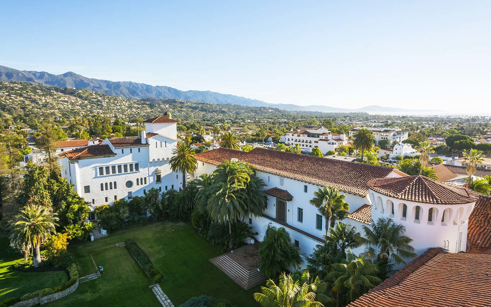 California, Santa Barbara, County Courthouse