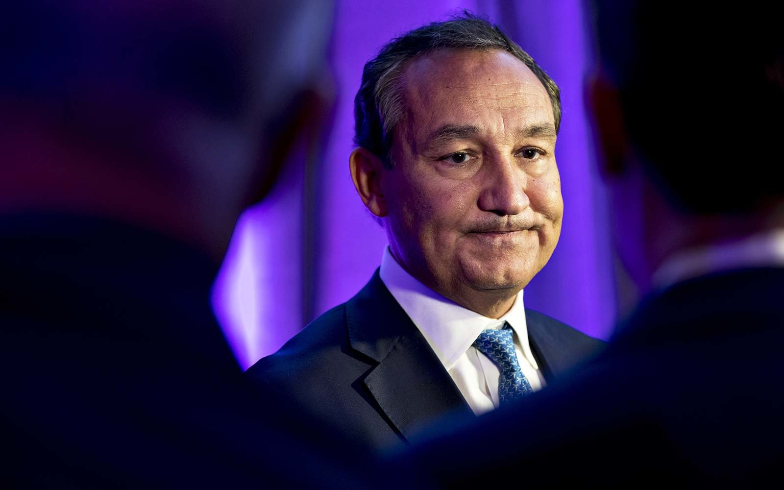 Oscar Munoz, chief executive officer of United Airlines