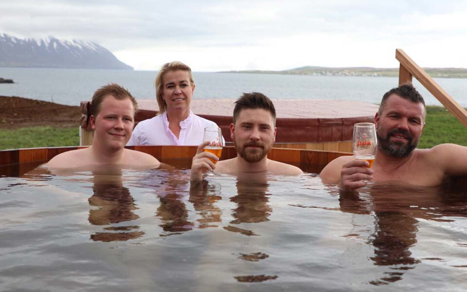 Bjorbodin Northern Iceland Beer Spa