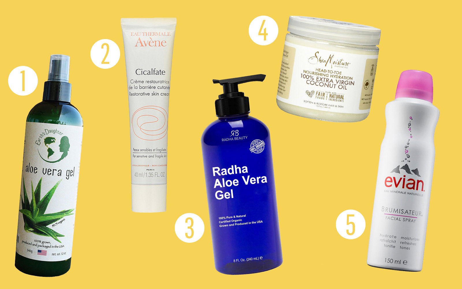 Aftersun Care and Burn Relief, Summer Beauty
