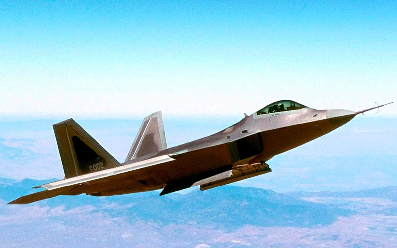 Lockheed F-22 Raport Air Force Jet