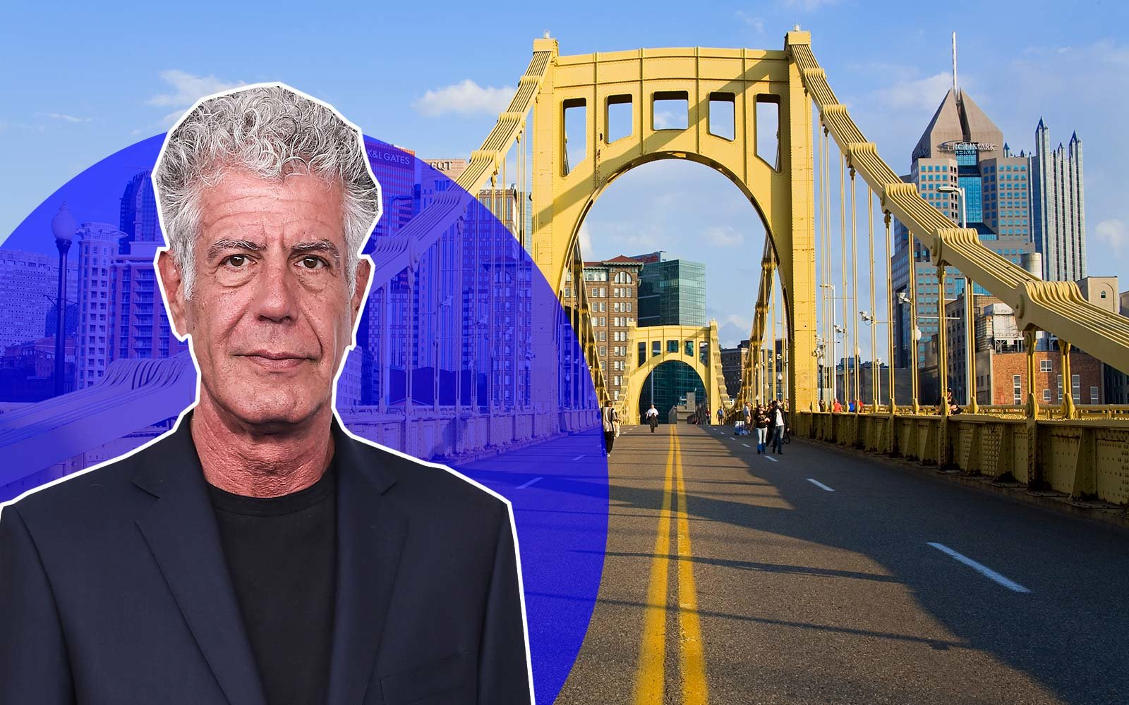Anthony Bourdain Squirrel Hill Cafe Pittsburgh, Pennsylvania