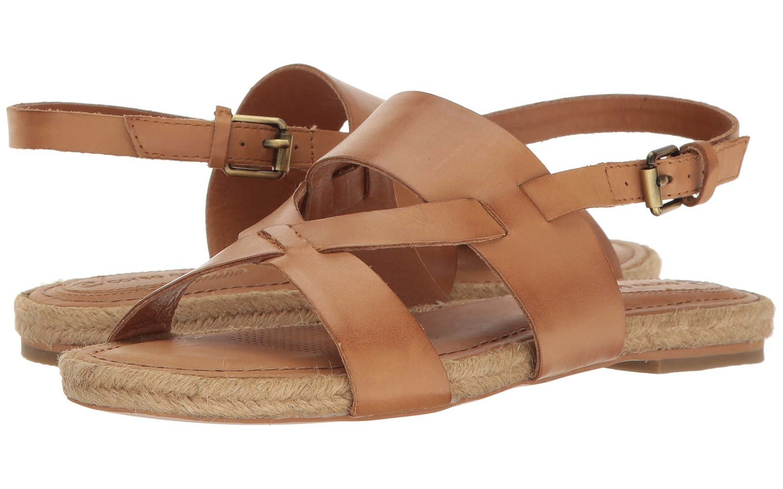 Espadrille Corso Como Pine Key Sandals Brushed Leather