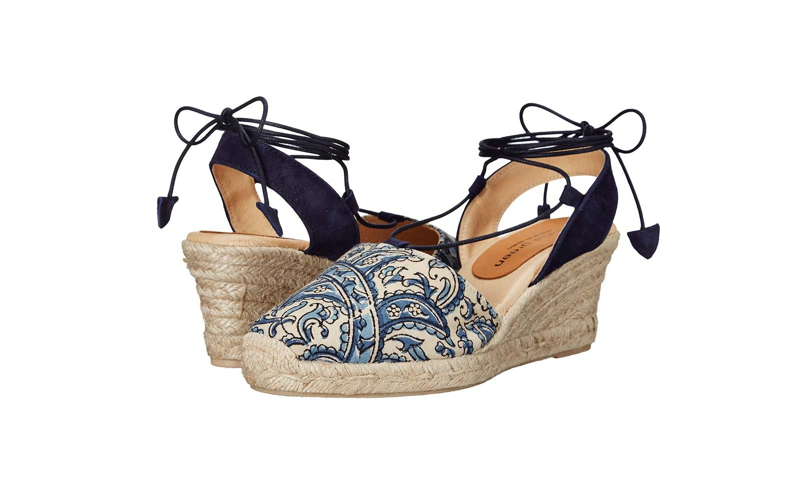 Patricia Green Patti Paisley Wedges