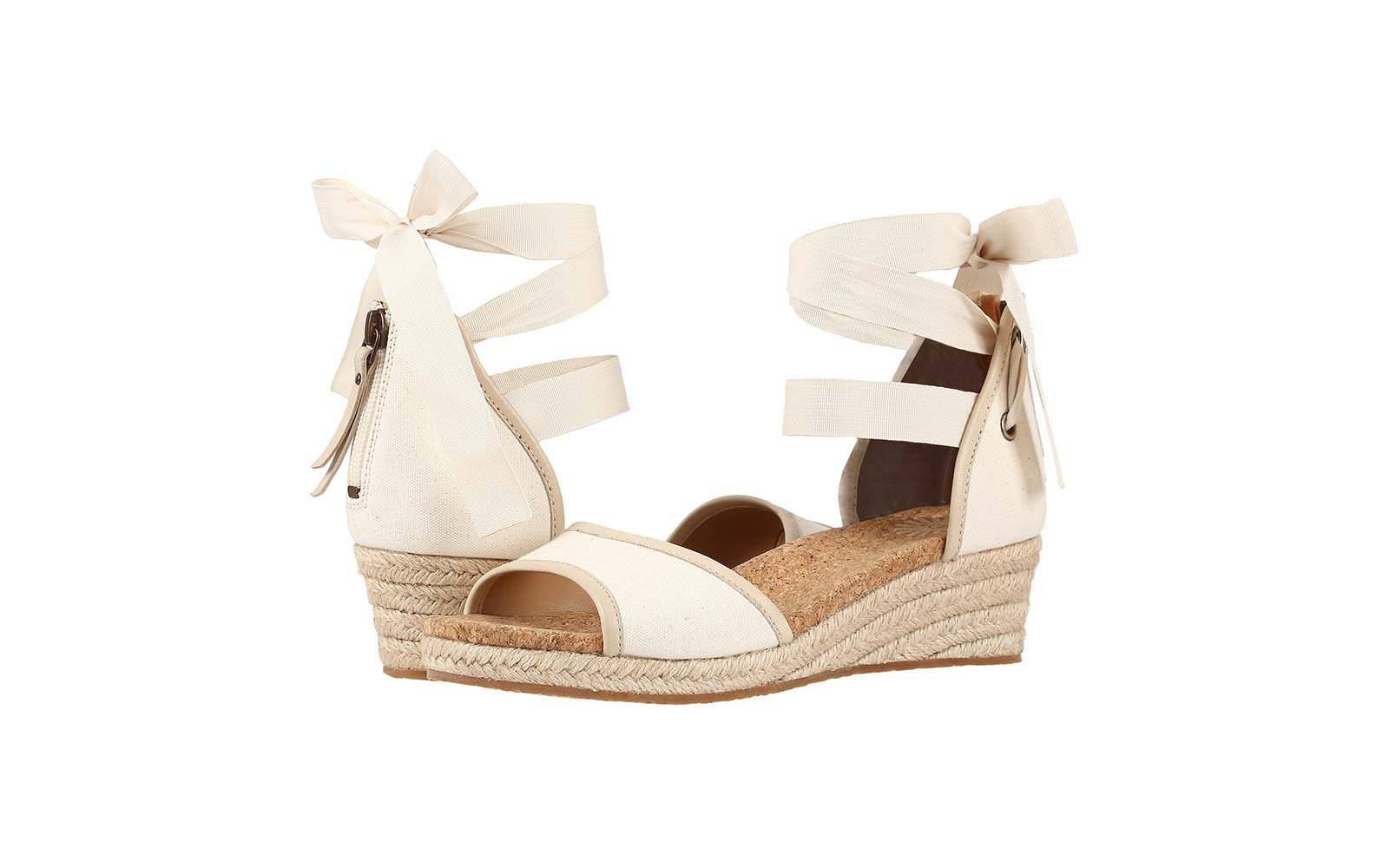 UGG Amell Wedges in Canvas