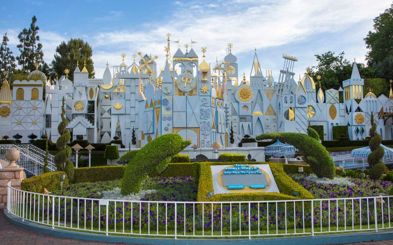"An iconic attraction in Disneyland park, ""It's a Small World"" transports guests through a celebration around the world. (Paul Hiffmeyer/Disneyland Resort)"