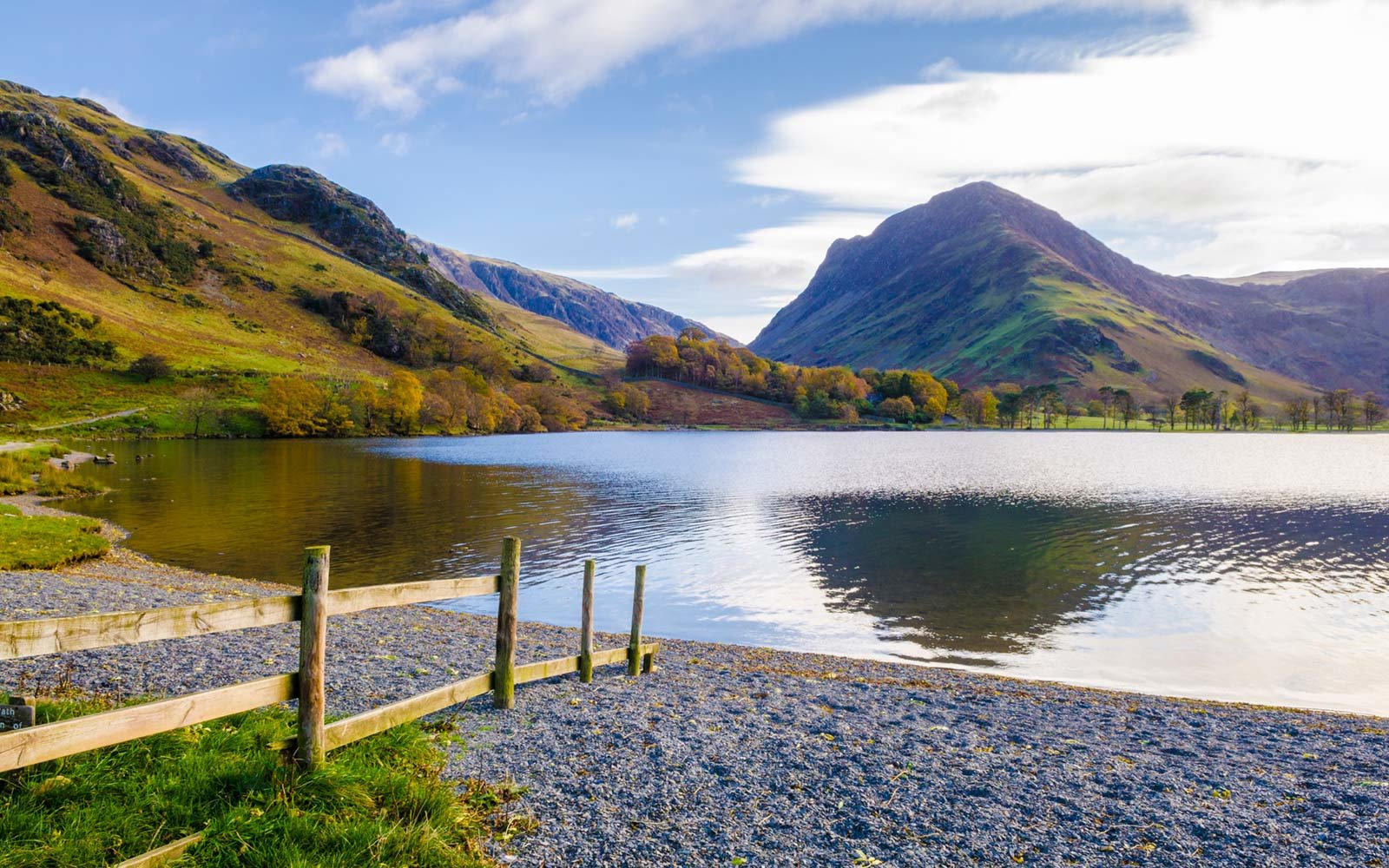 Buttermere lake, Lake District, England