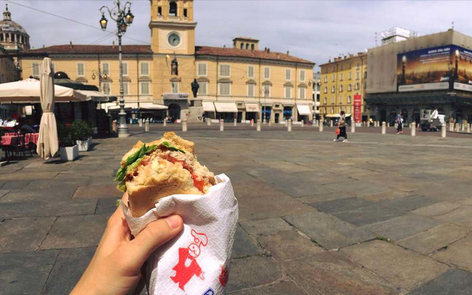 Valentina Bertazzoni Parma Italy Guide Pepen street food sandwich