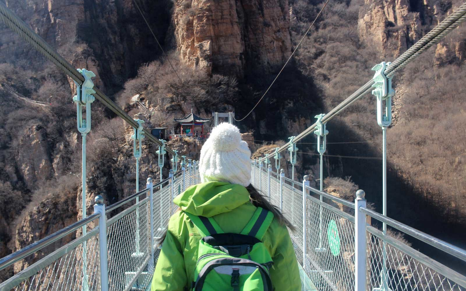 10 000 People Flocked To This Glass Bridge In China On Its