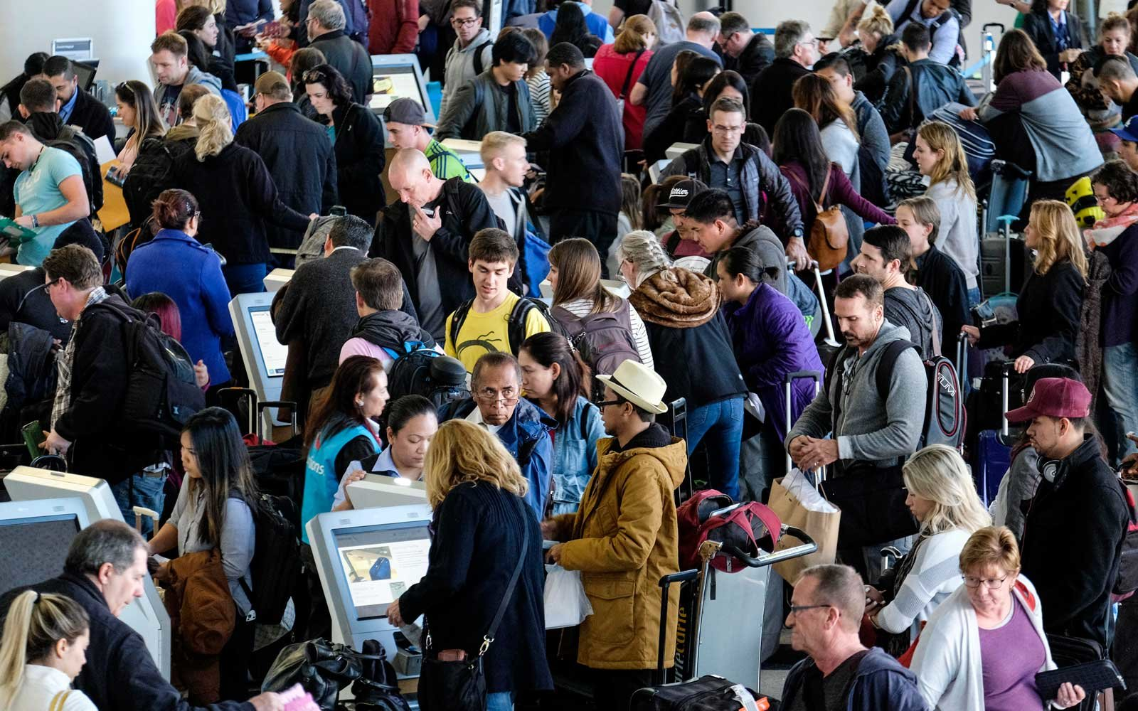 Airline passenger complaints are up