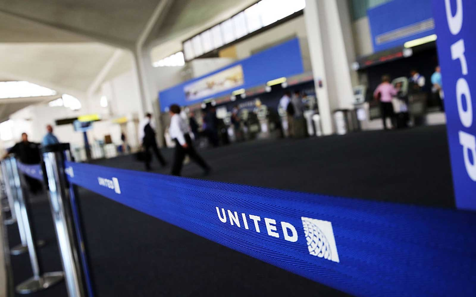 NEWARK, NJ - JULY 08:  The United Airlines terminal is viewed at Newark Liberty Airport on July 8, 2015 in Newark, New Jersey. A computer system glitch caused thousands of United Airlines flights throughout major airports to be grounded Wednesday morning.