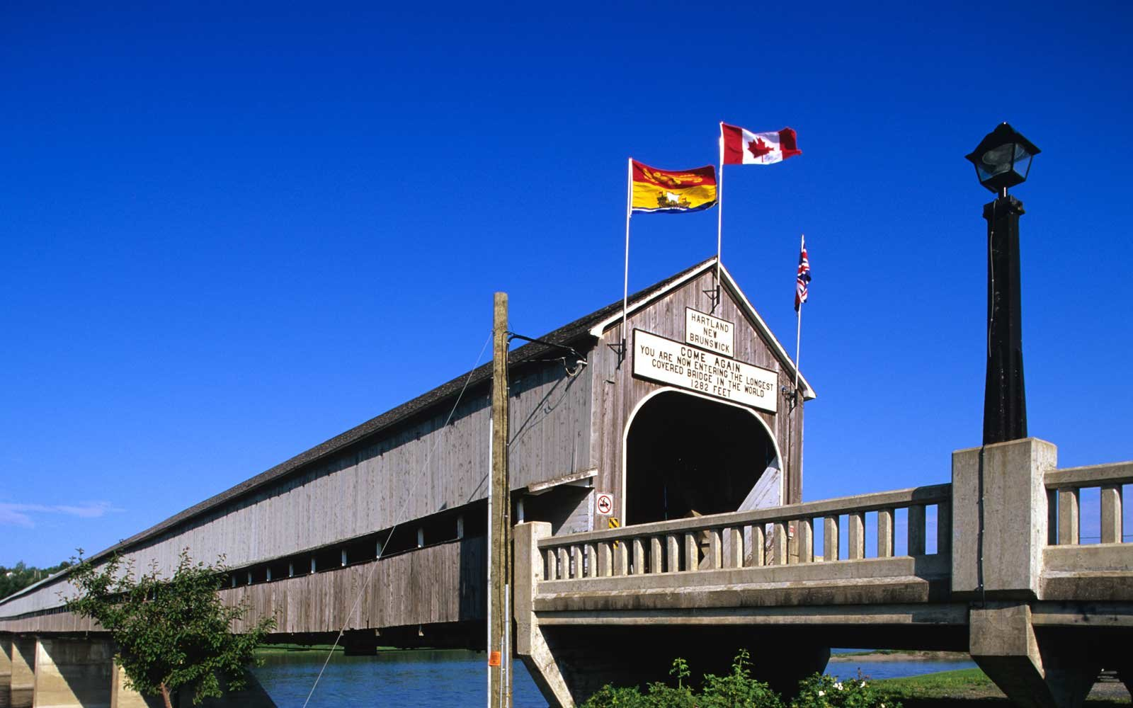 Canada's Famous Covered Bridge