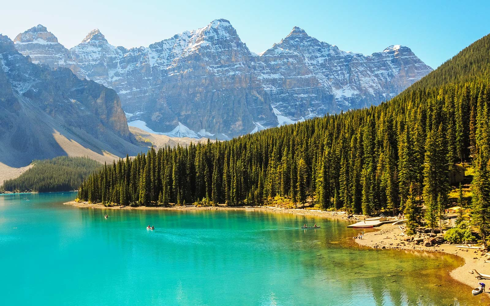 Icefields Parkway, Banff National Park Moraine Lake Canada