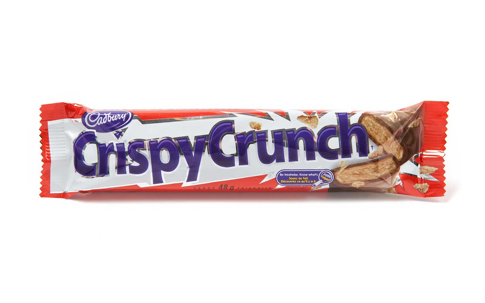 Crispy Crunch candy made by Cadbury Canada