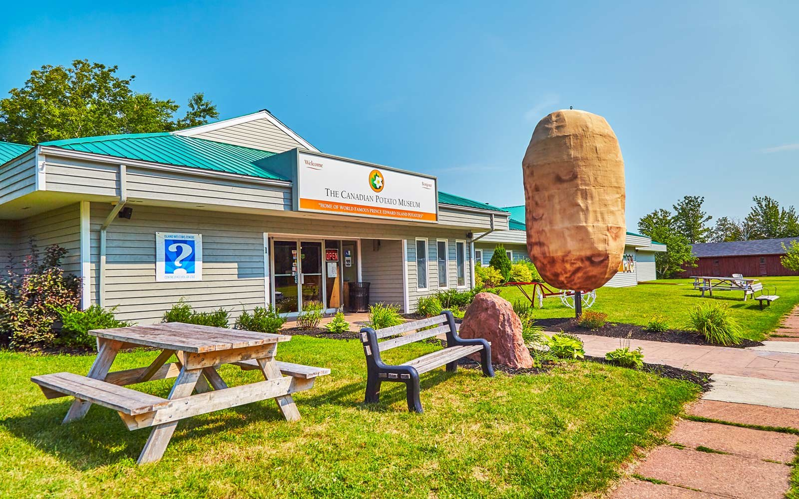 The Potato Museum, Prince Edward Island, Canada