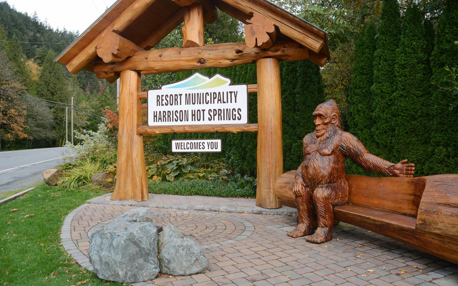 Sasquatch Caves, Harrison Hot Springs, British Columbia, Canada