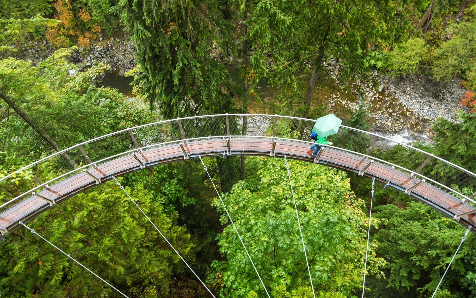 Capilano Suspension Bridge in West Vancouver