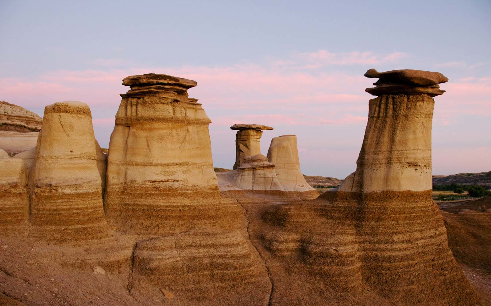 The Hoodoos of Drumheller Valley