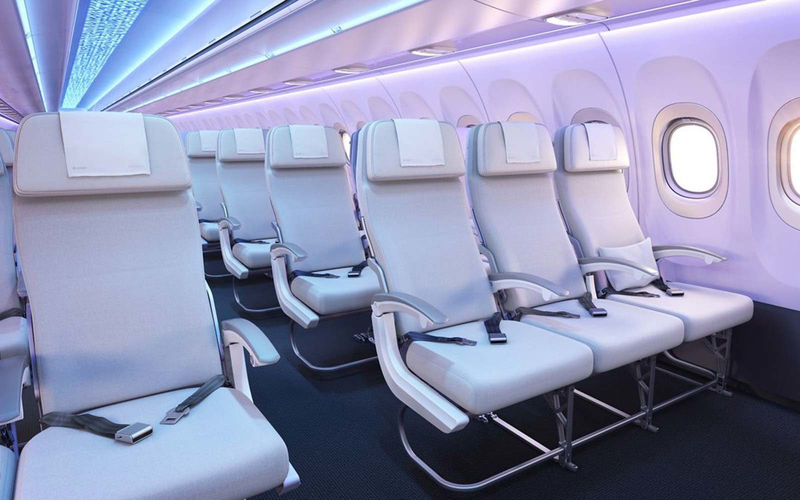 Airbus Airspace Cabin A320 Neo Airplane