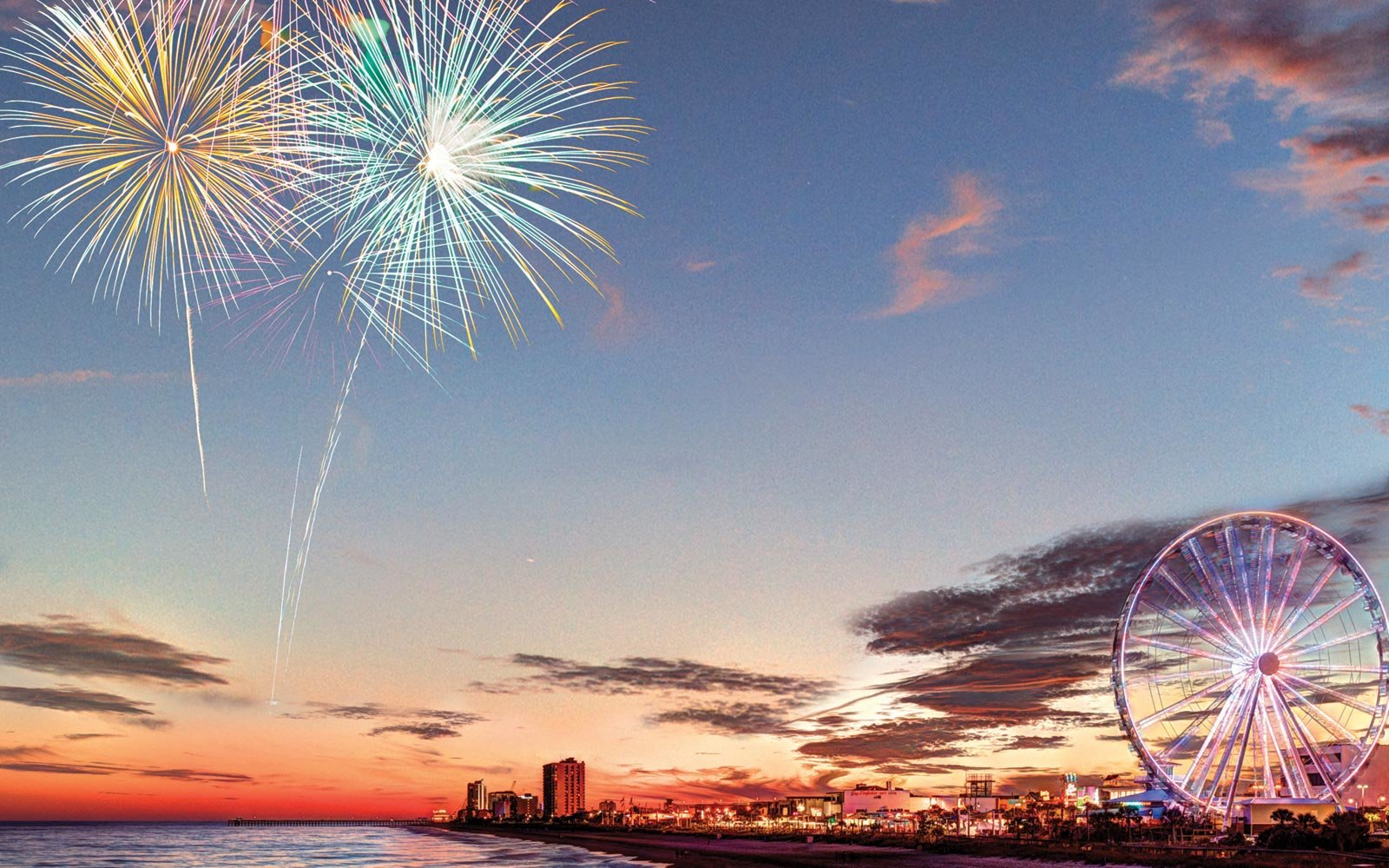 Fireworks, Myrtle Beach, South Carolina