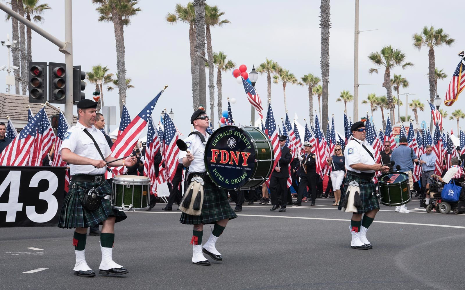 Fourth of July Parade, Huntington Beach, California