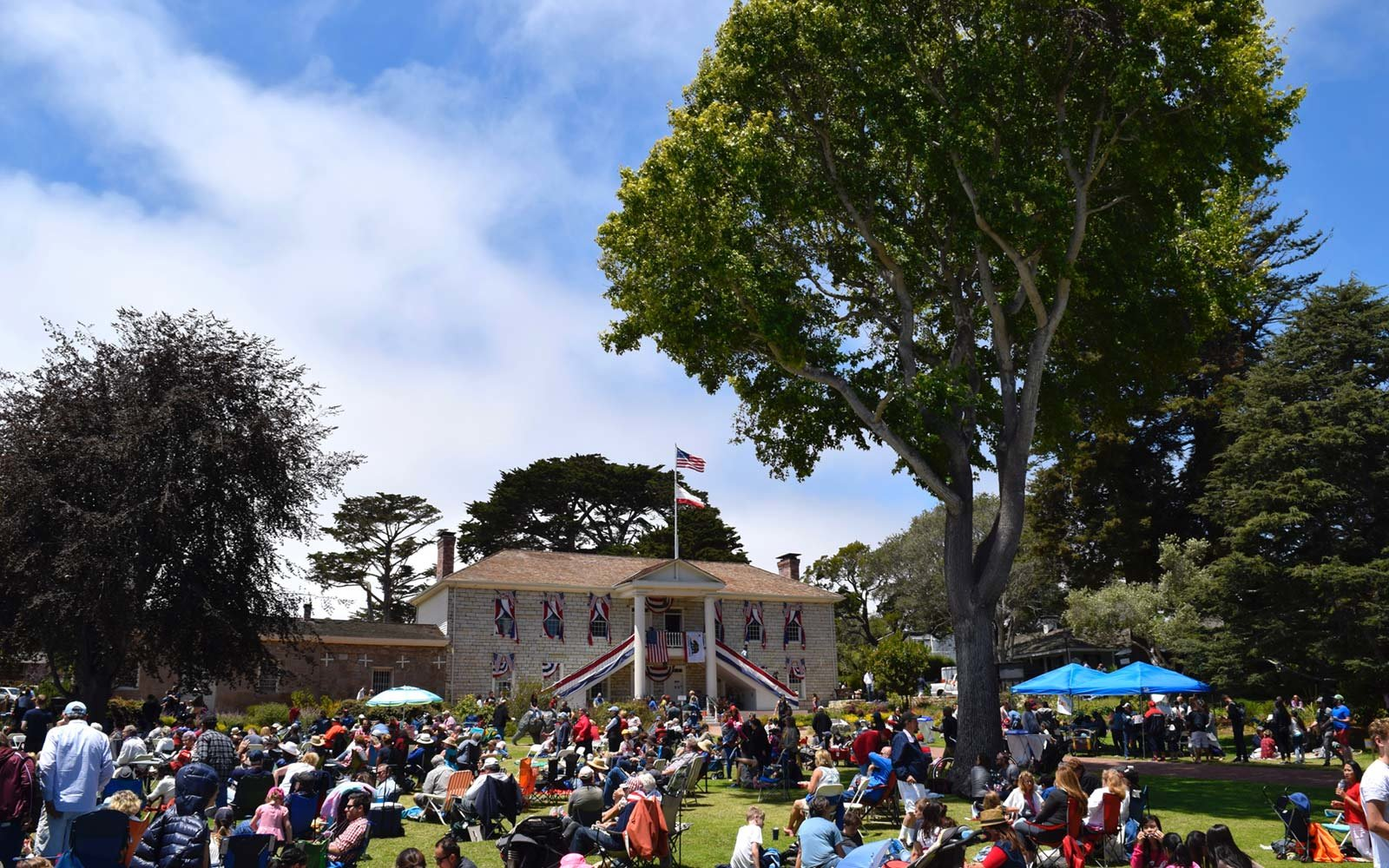 Fourth of July, Monterey, California