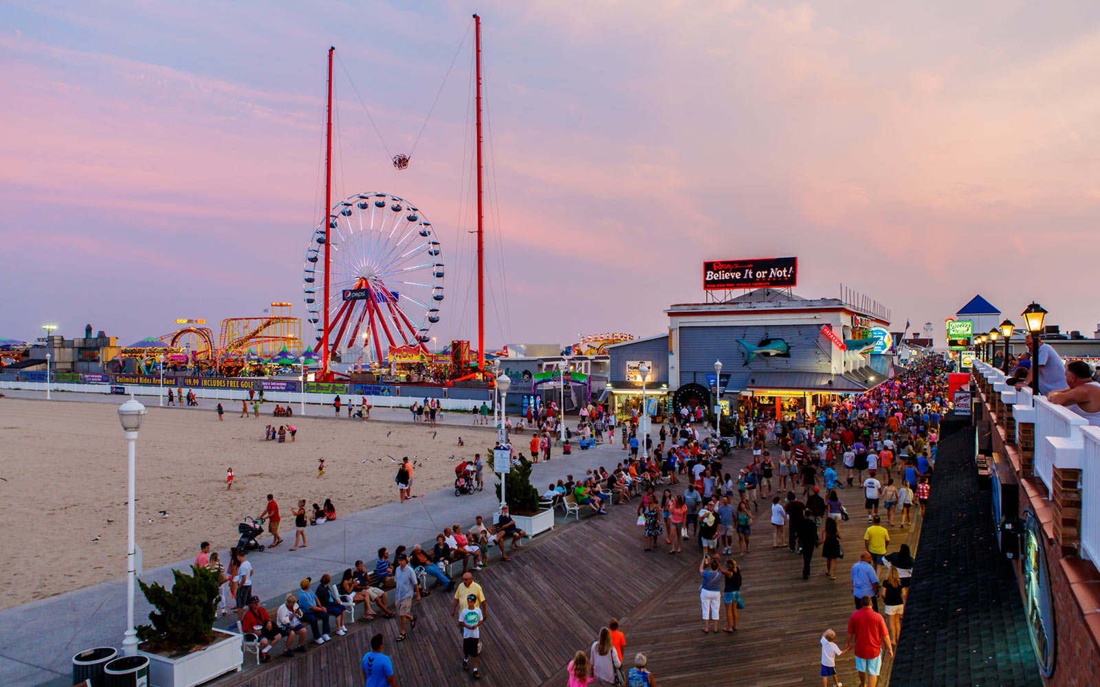 Ocean City Beach, Maryland