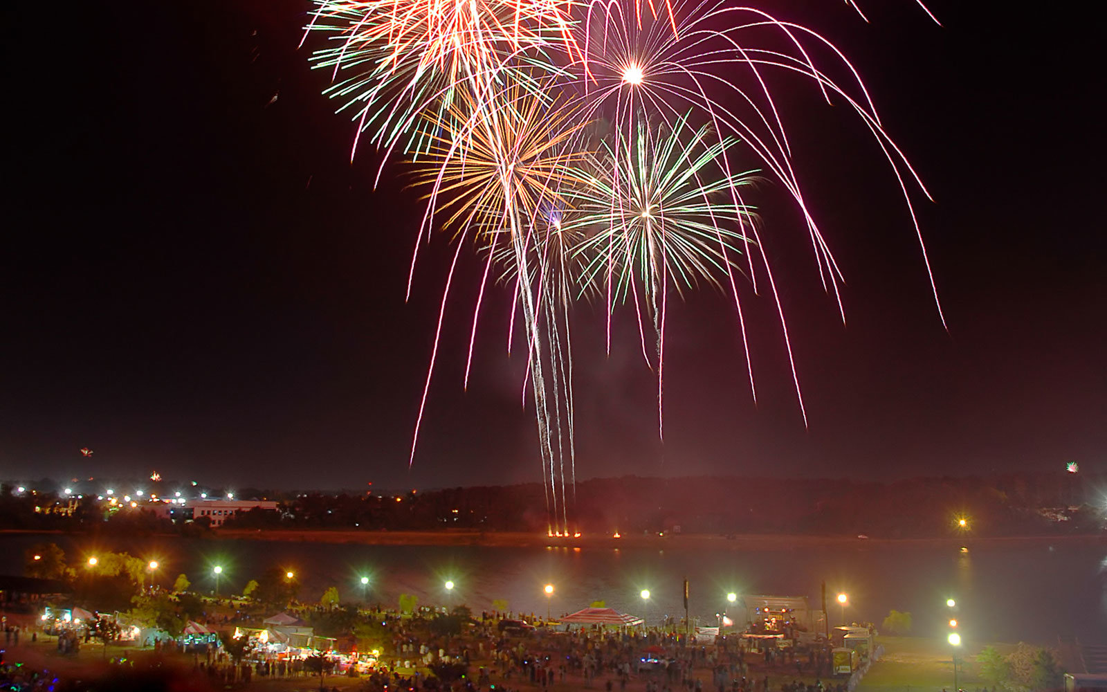 Fireworks, Virginia Beach, Virginia