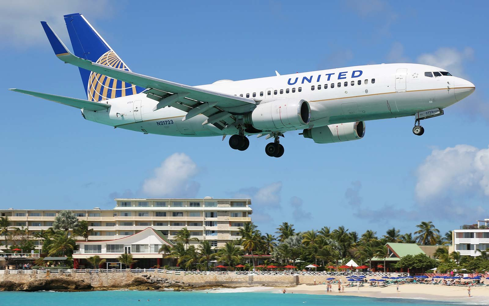 United Airlines Boeing