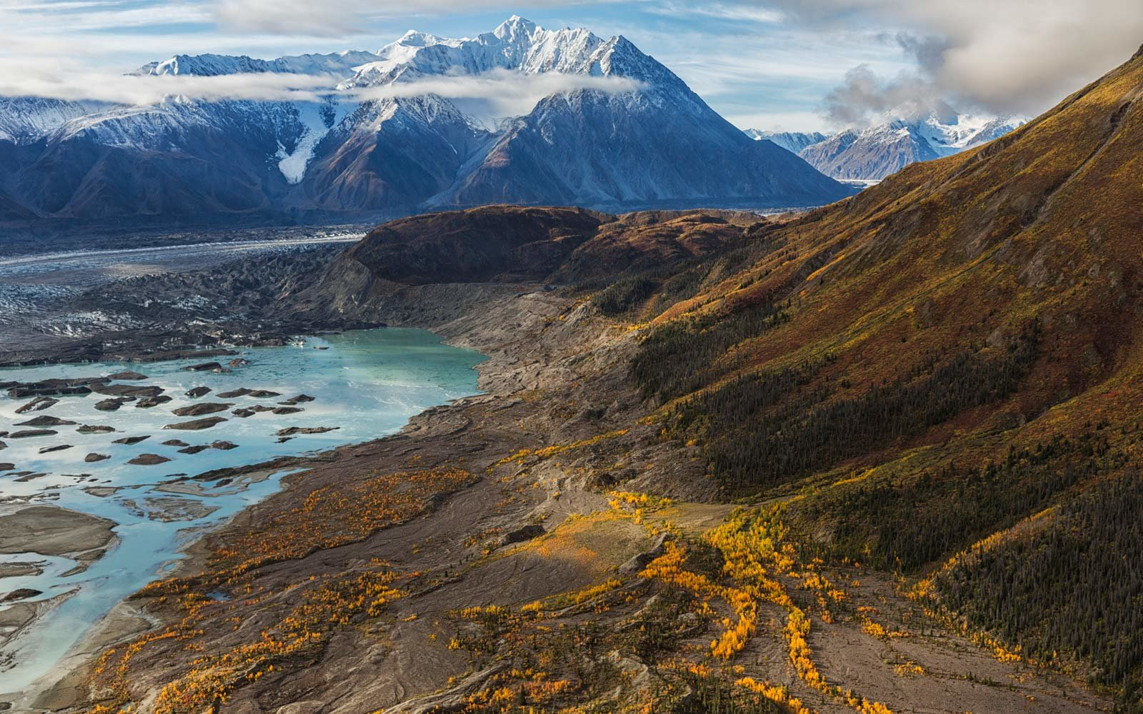 Kluane National Park and Reserve, Yukon Territory, Canada