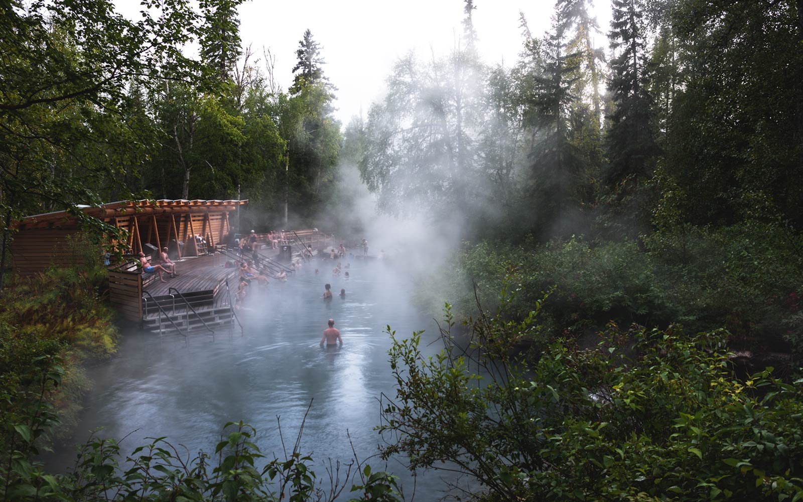 5. Liard River Hot Springs Provincial Park, British Columbia