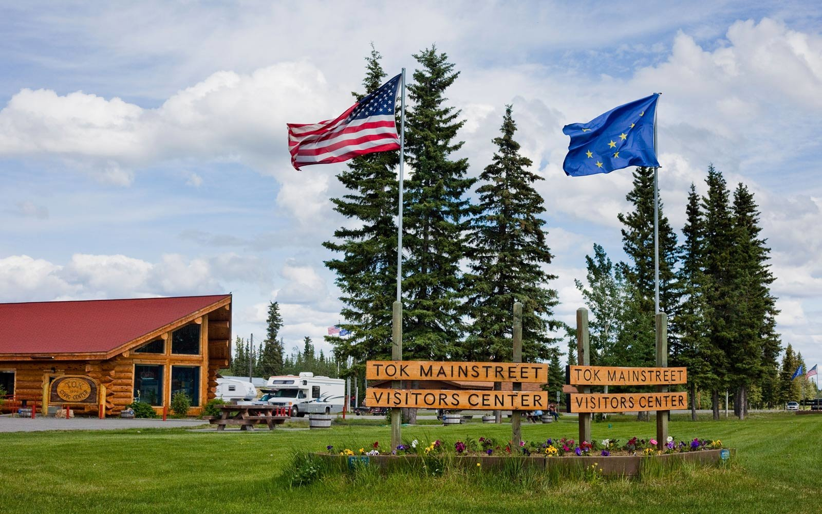 Mainstreet Visitors Center, Tok, Alaska