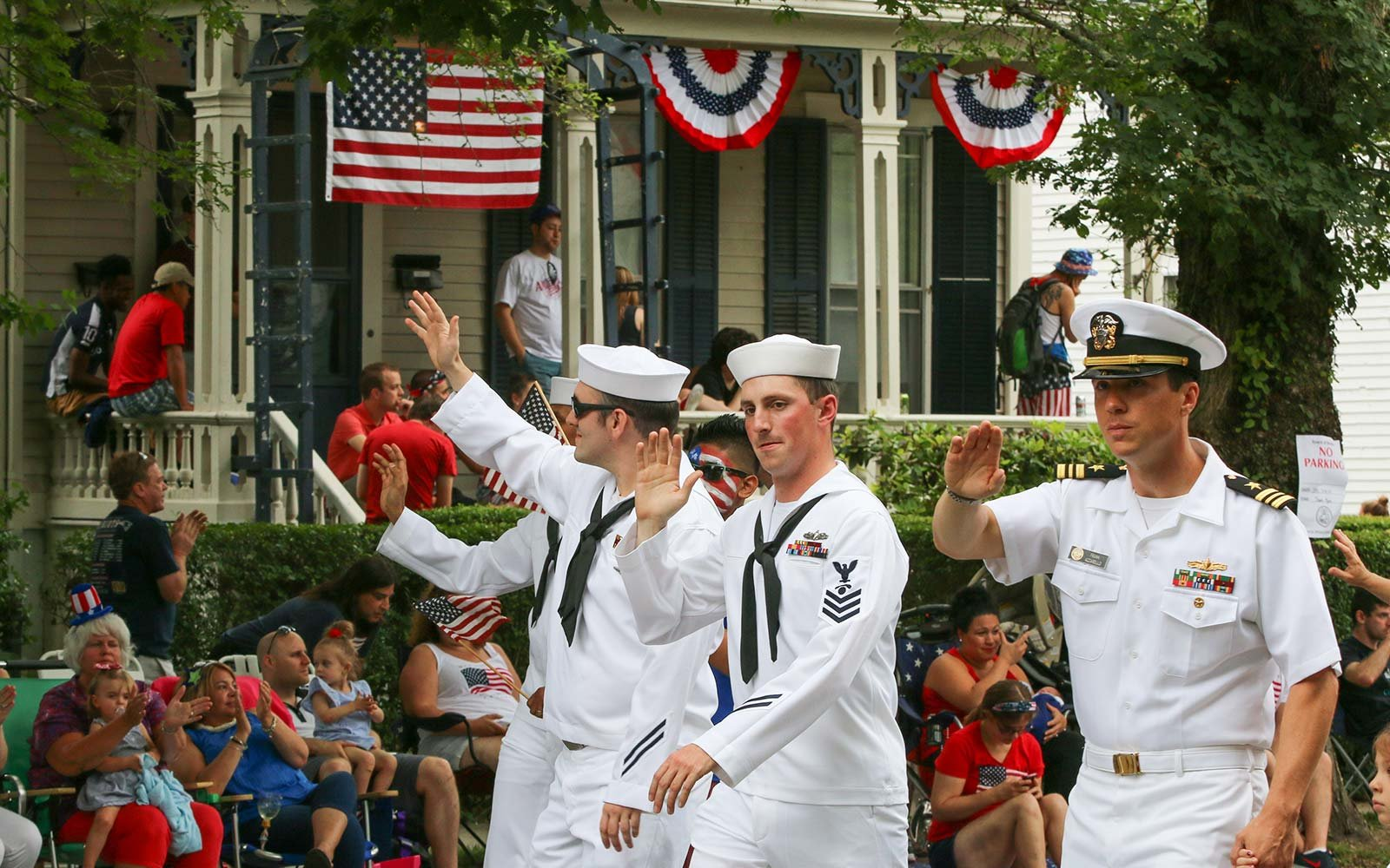 Fourth of July Independence Day Celebrations Holiday Bristol Rhode Island parade