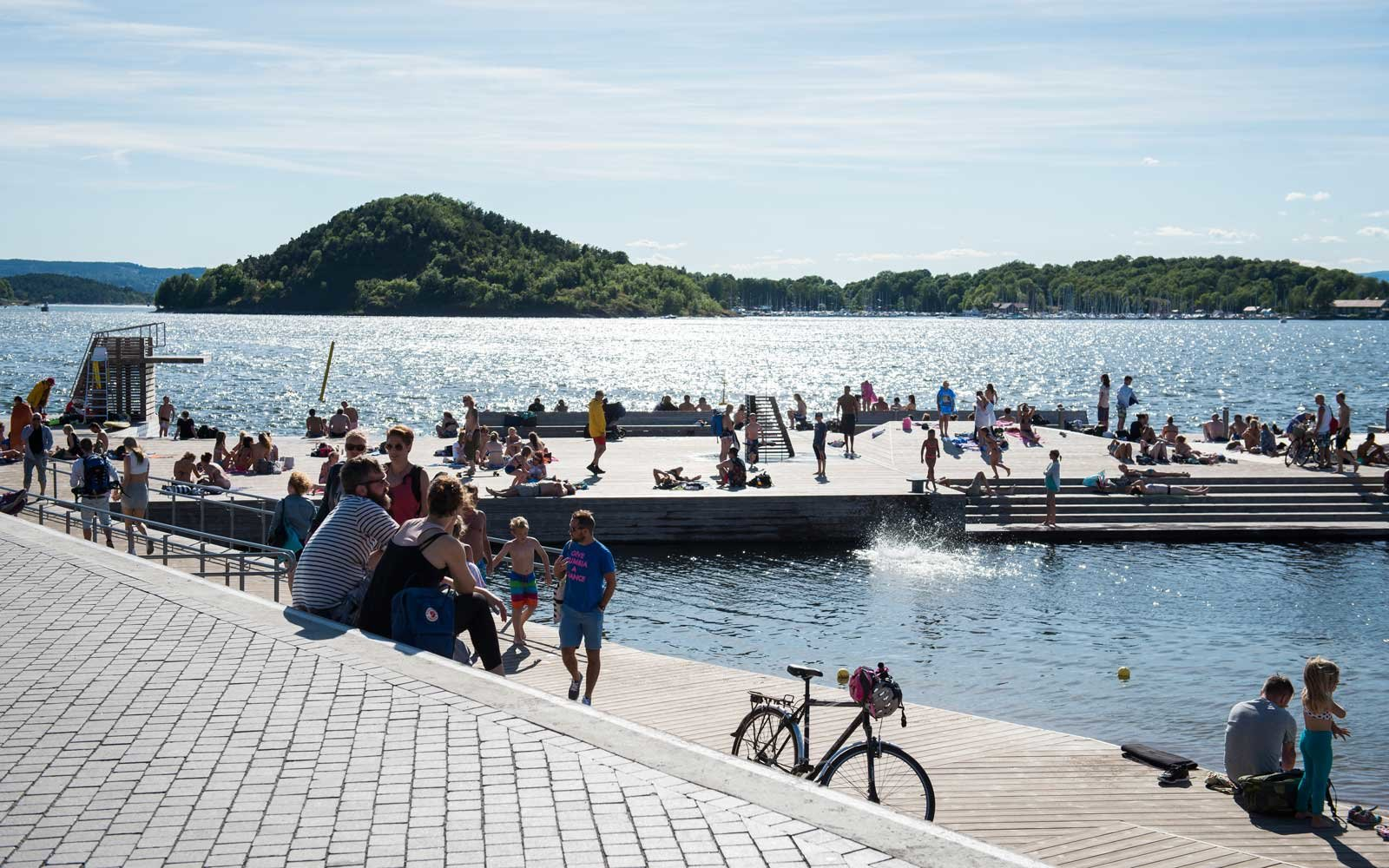 Sørenga Harbor Pool