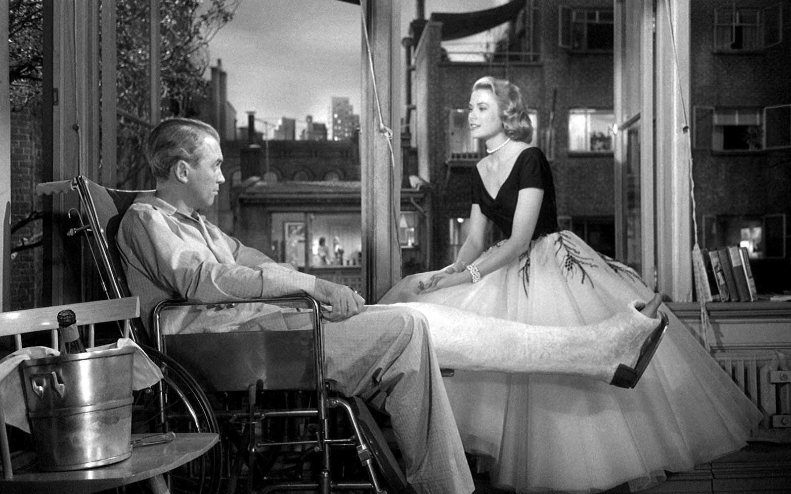 Rear Window Grace Kelly James Stewart