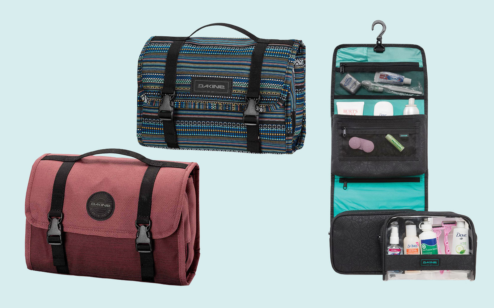 The Best Hanging Travel Organizer For Storing All Your Toiletries