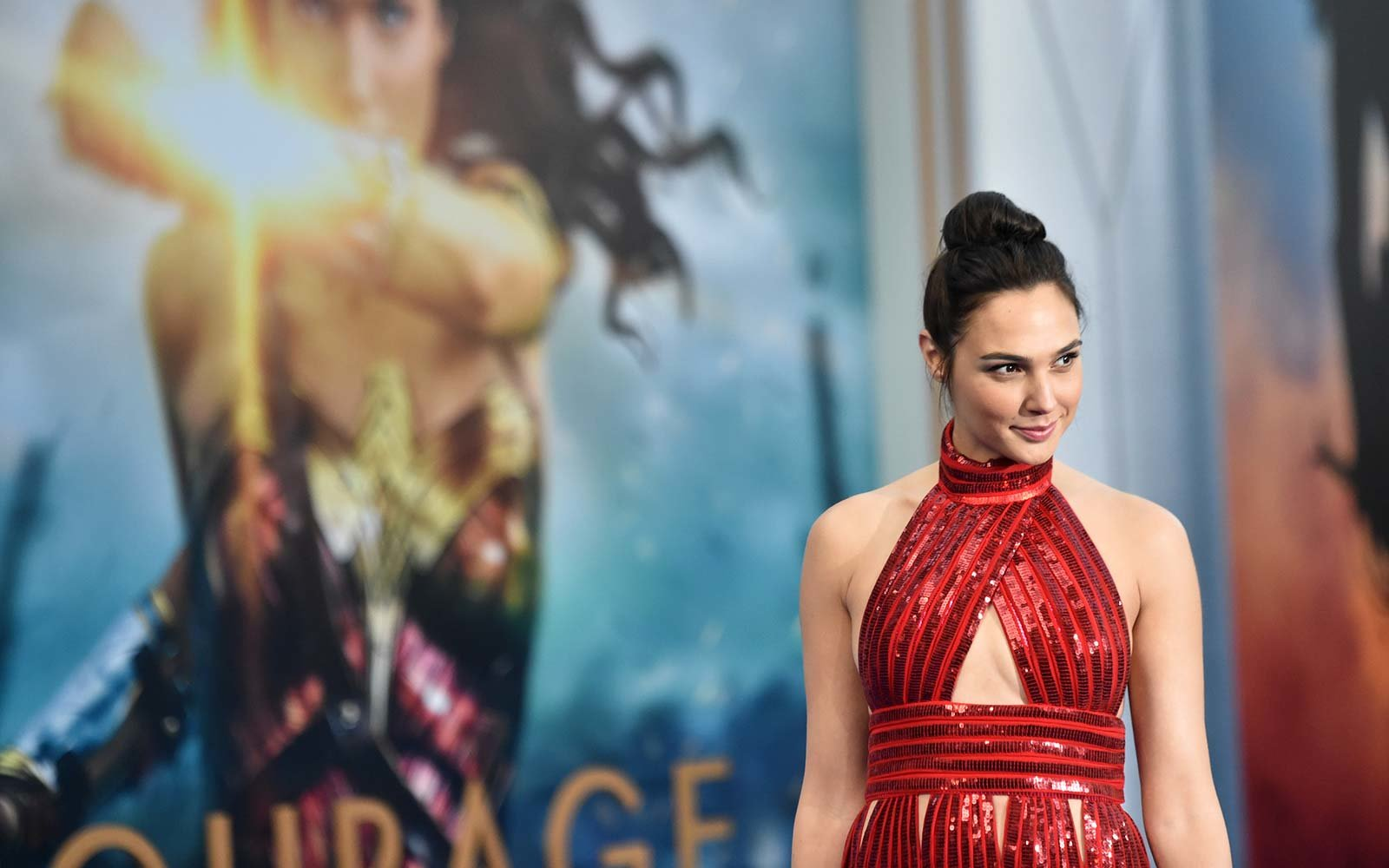 Gal Gadot Wonder Woman Hollywood, California