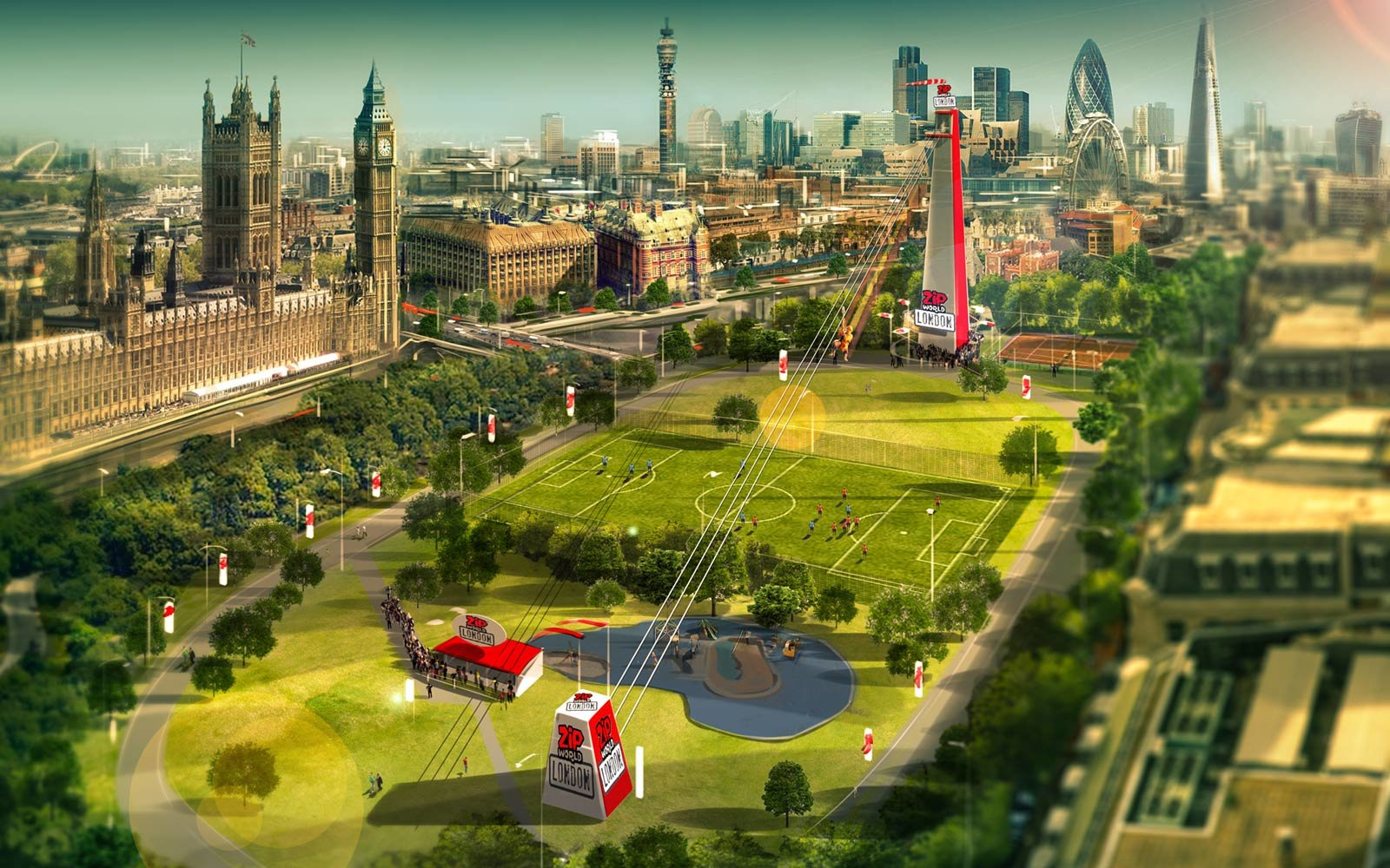 London S New Zip Line Will Take You On An Epic Ride Over
